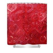 My Valentine Shower Curtain