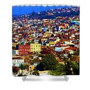 My Valparaiso Shower Curtain