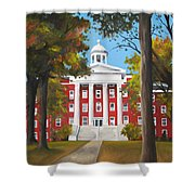 Myers Hall Shower Curtain