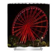 Myrtle Beach Sky Wheel Shower Curtain