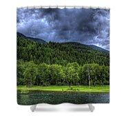 Myrtle Creek 1 Shower Curtain