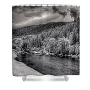 Myrtle Creek 2 Shower Curtain