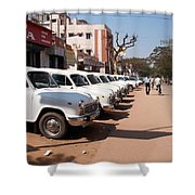 Mysore Taxis Shower Curtain
