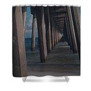 Myst Under The Pier Shower Curtain