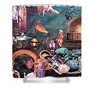 Mysteries Shower Curtain