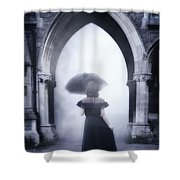 Mysterious Archway Shower Curtain by Joana Kruse