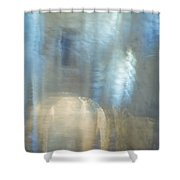 Mysterious Cave. Impressionism. Tnm Shower Curtain