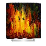 Mysterious Cave Shower Curtain