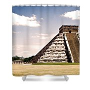 Mysterious Chichen Itza Shower Curtain