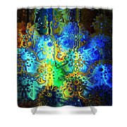 Mysterious Icons Shower Curtain
