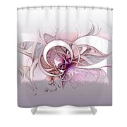Mysterious II Shower Curtain