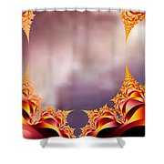 Mysterious Locations #2 Shower Curtain