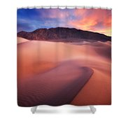 Mysterious Mesquite Shower Curtain by Darren  White