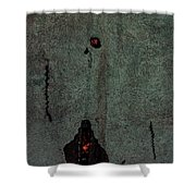 Mysterious Wall Shower Curtain