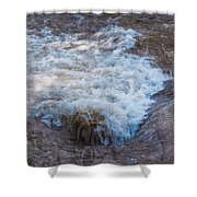 Mysterious Wave Shower Curtain