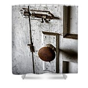 Mystery Door Shower Curtain