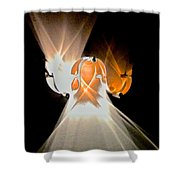 Kinetic Mysteries Shower Curtain