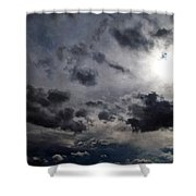 Mystery Of The Sky Shower Curtain by Glenn McCarthy Art and Photography