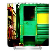 Mystery Ride Shower Curtain
