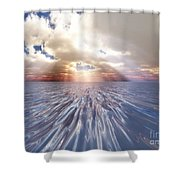 Mystery Sea Shower Curtain