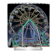 Mystery Wheel - 1 Shower Curtain