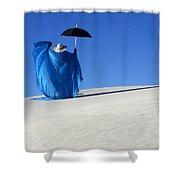 Mystic Blue 7 Shower Curtain