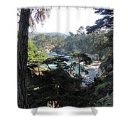 Mystic Bridge Shower Curtain