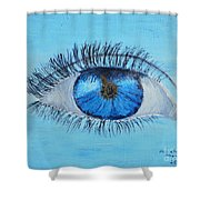 Mystic Eye Shower Curtain
