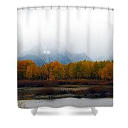 Mystic Grand Teton  Shower Curtain