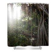 Mystic Jungle Shower Curtain