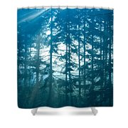 Mystic Light Shower Curtain