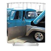 Mystic Magic Ford F100 Shower Curtain