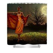 Mystic Moonlight V2 Shower Curtain by Bedros Awak