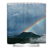Mystic Rainbow Shower Curtain