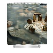 Mystic River Iv Shower Curtain