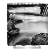 Mystic River S2 Iv Shower Curtain by Marco Oliveira