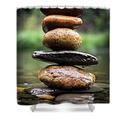 Mystic River S2 Xii Shower Curtain