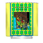 Mystic Stripers - Six Familiar Airs Poster Shower Curtain