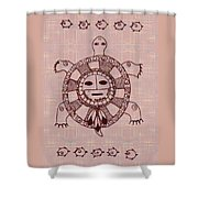 Mystic Turtle Shower Curtain