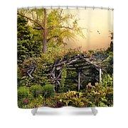 Mystical Arbor Shower Curtain