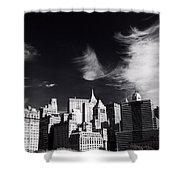 Mystical Manhattan Morning Shower Curtain