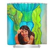 Mystical Mermaid Shower Curtain