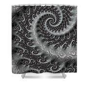 Mythical Tail  Shower Curtain
