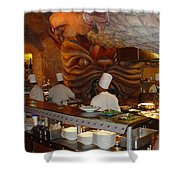 Mythos Cooks Shower Curtain