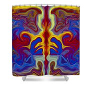 Myths Of Dragons Shower Curtain