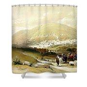 Nablus Old Shechem Shower Curtain