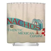 Nachos Shower Curtain