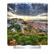 Nafplion Shower Curtain