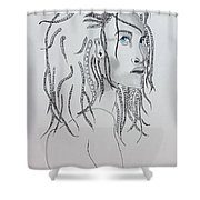 Naia The First American Shower Curtain