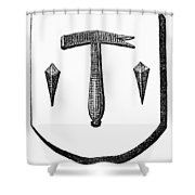 Nailmakers Guild Banner Shower Curtain
